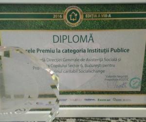 Marele Premiu la categoria instituții publice a fost câștigat de magazinul SocialXchange