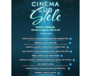 """Cinema sub stele"" și SocialXchange merg mai departe"